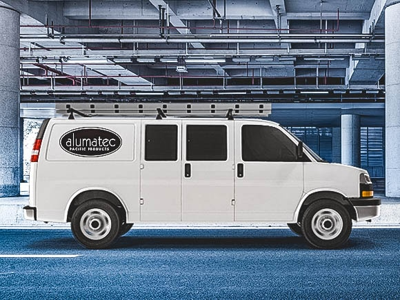 Alumateic Pacific Products Van