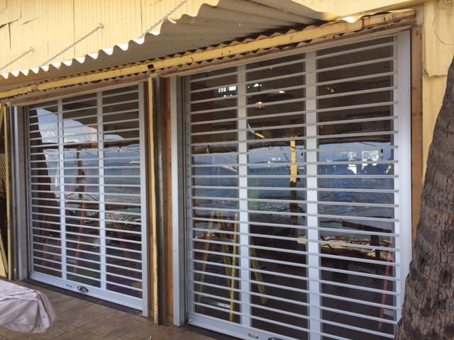 LXR exterior security shutter