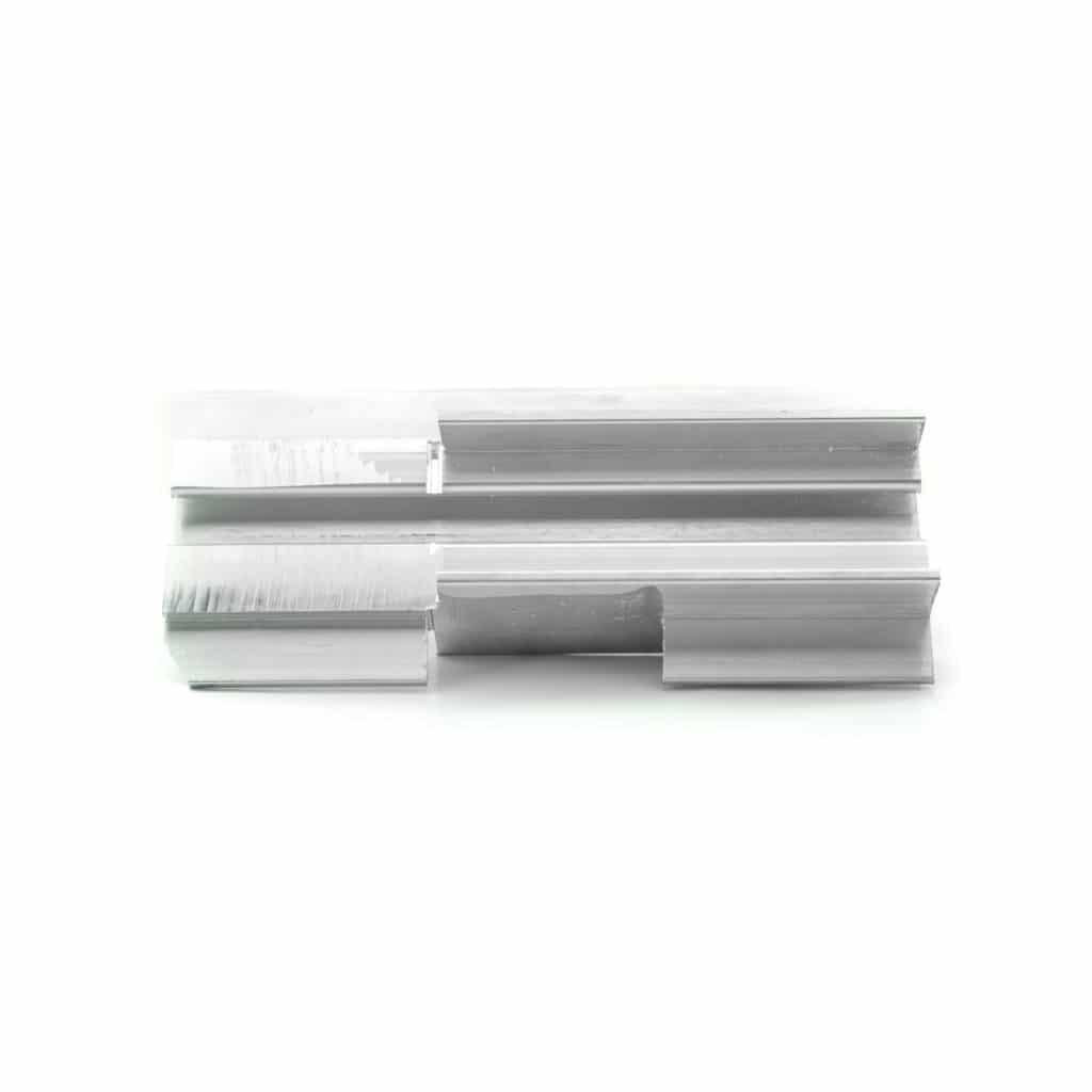 Lock bar aluminum guide
